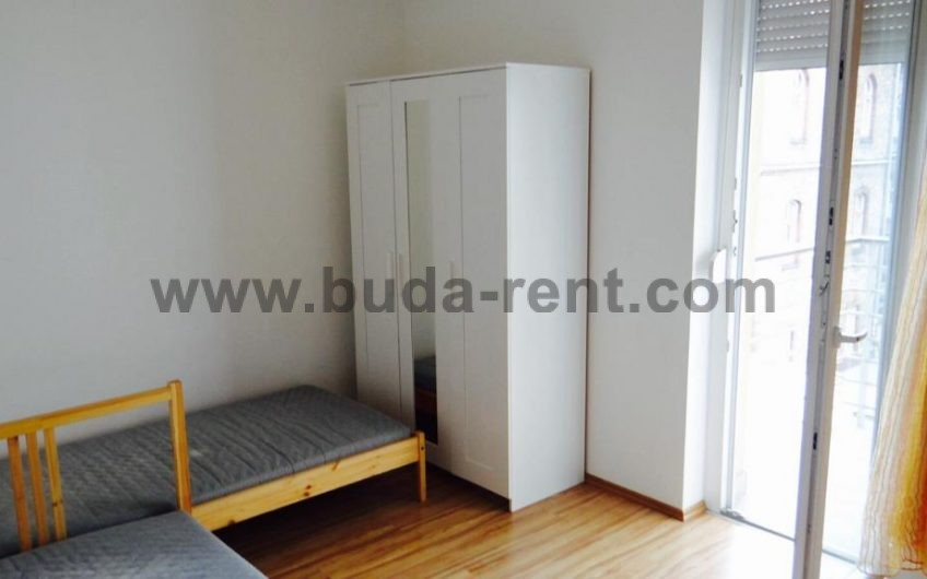 8.district,CLose to Rákóczi tér,2 rooms+Living room